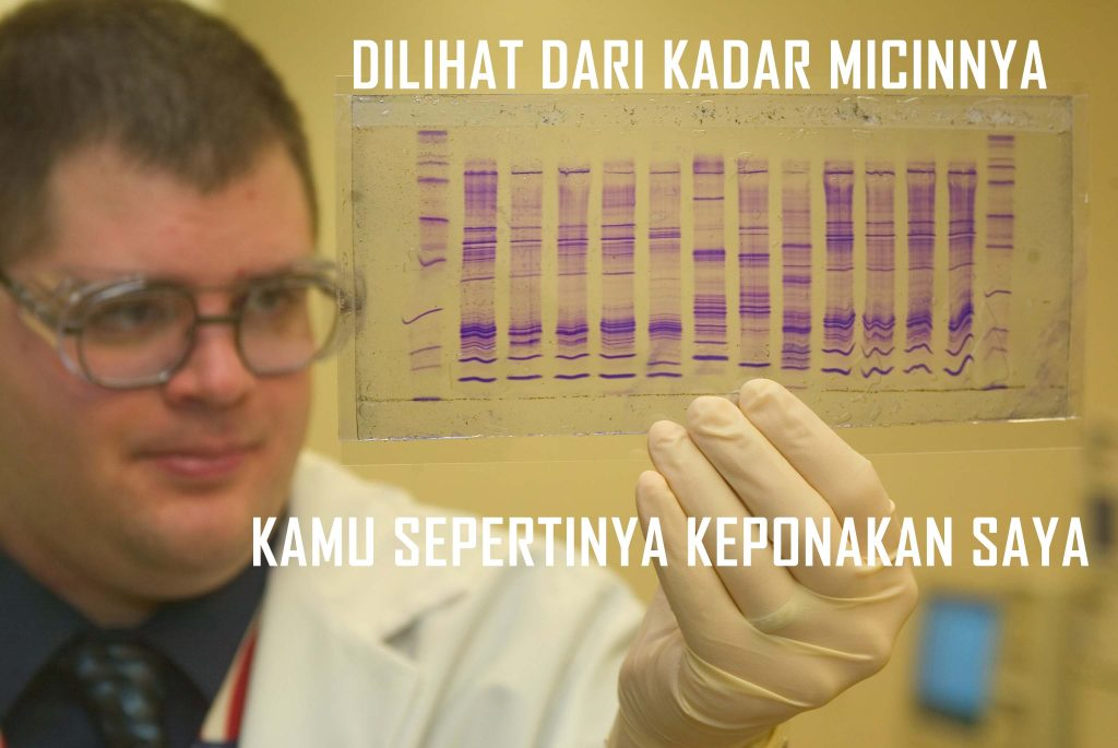 Tes kadar micin dalam DNA