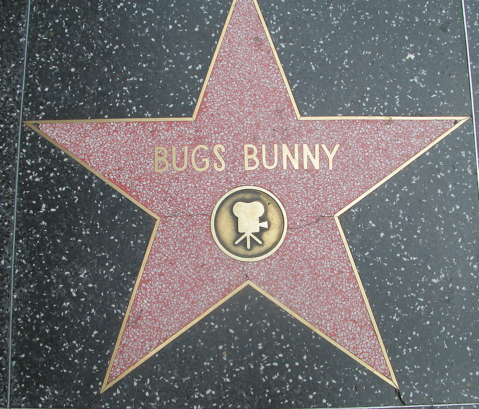 Walk of Fame-nya si Bugs nihhh